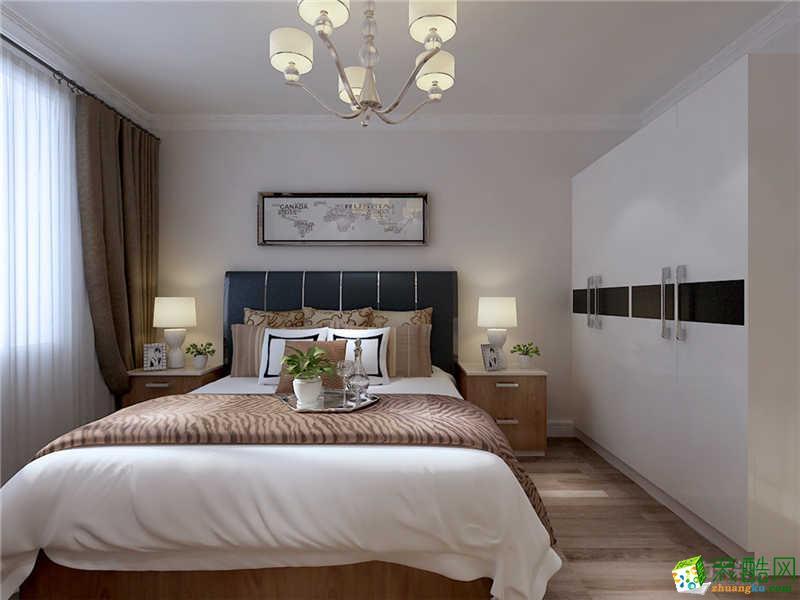 石家庄82�O两室两厅现代简约风格装修效果图