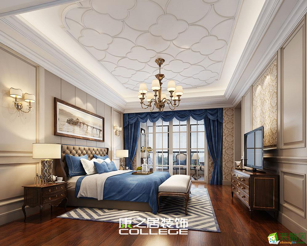 华宇尚城145�O欧式风格装修设计效果图