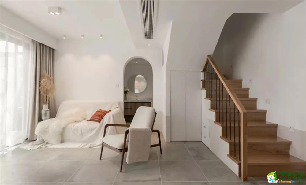 120㎡復式公寓設計, 拒絕濃妝艷抹,清新素顏更迷人!
