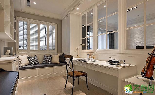 西安215平米四室两厅两卫美式风格装修效果图片