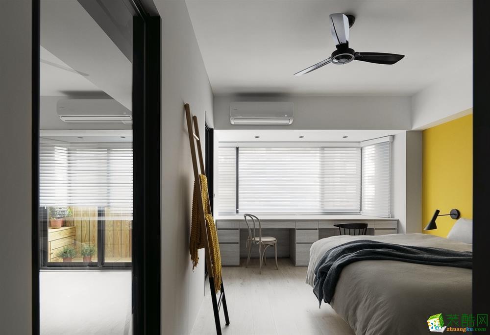 沈阳格林梦夏-90平米北欧风格两室两厅两卫装修效果图片