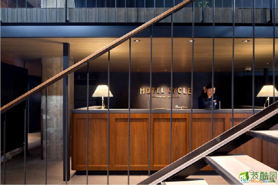 1650平米工業低碳風酒店裝修案例