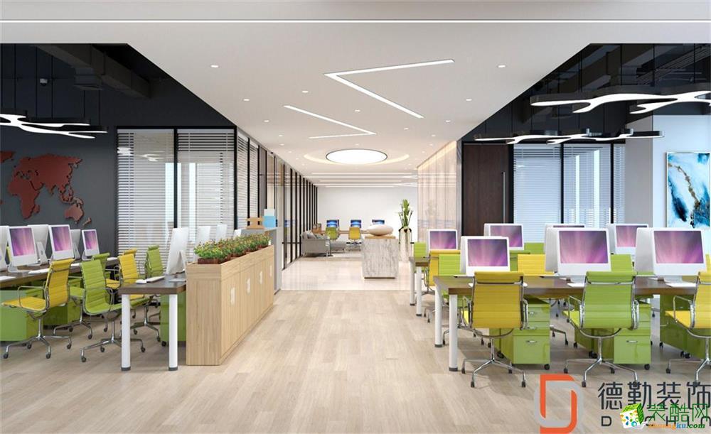 联合广场办公室装修设计