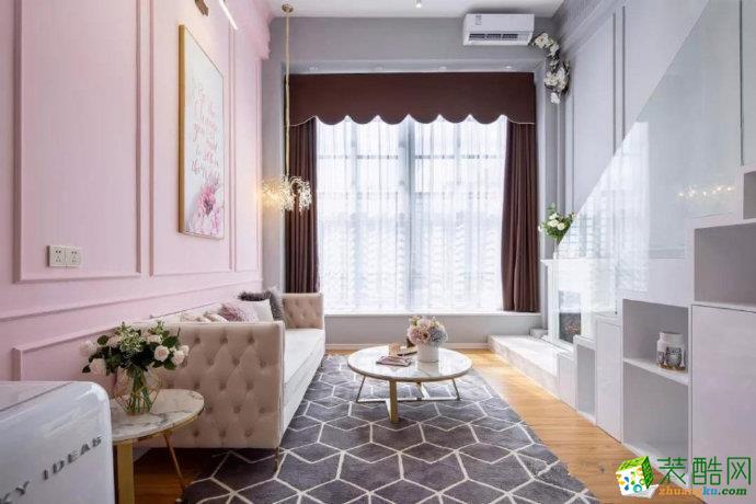 重庆65平米现代风格两室一厅装修案例图