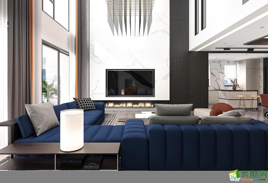 广州130平米现代风格复式装修案例