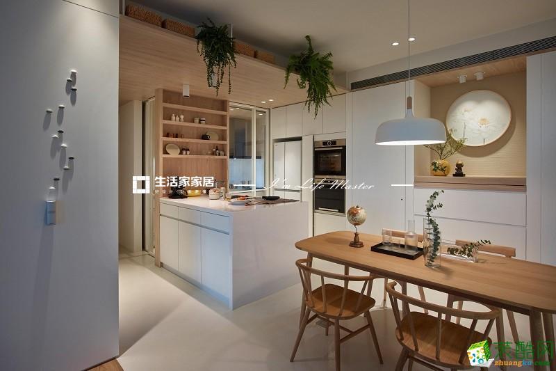 176�O日式三室西溪蝶园装修设计作品
