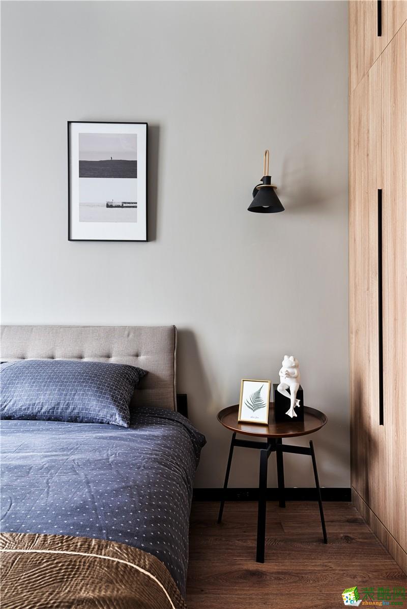 沈阳85平米两室一厅一卫装修效果图片