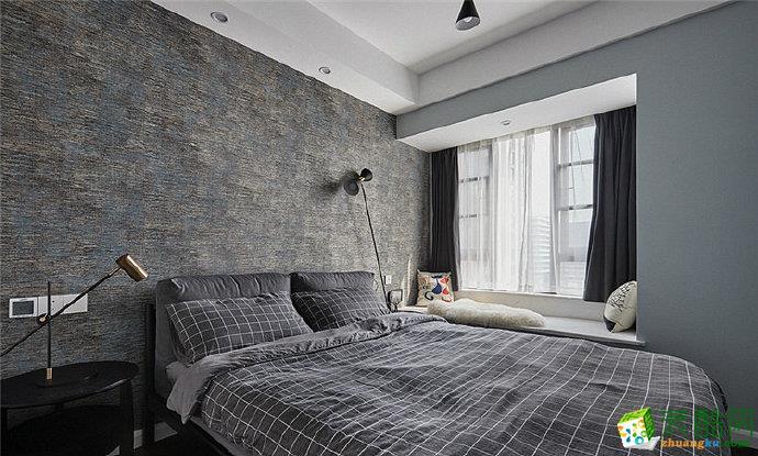 重庆120平米简约风格两室两厅装修效果图