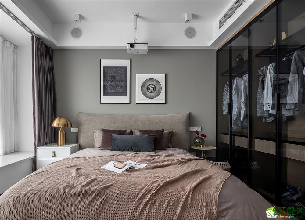 沈阳万峰国际180平三室北欧风格装修效果图