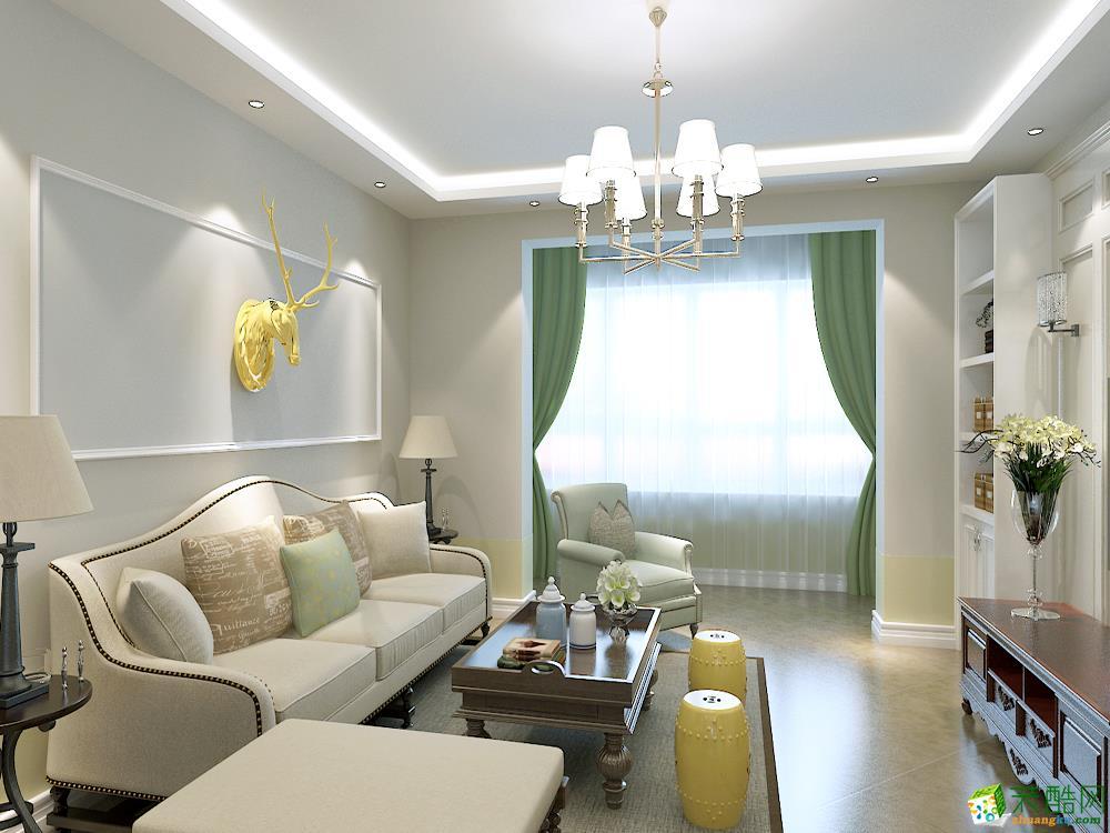 混搭风格三居室140平装修效果图