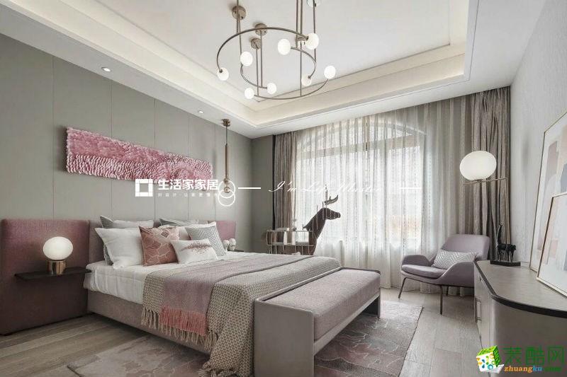 生活家120平三室现代风格装修效果图