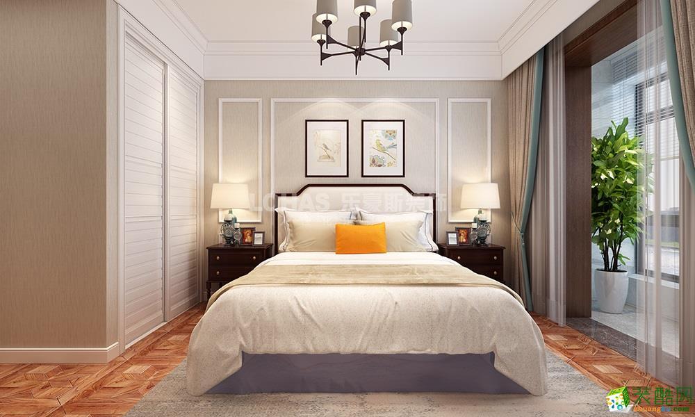 郑州泰宏阳光和苑140平美式古典风格装修效果图