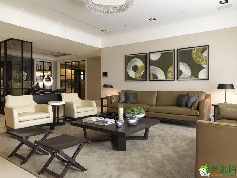 120�O三室二厅奢华后现代风格装修案例