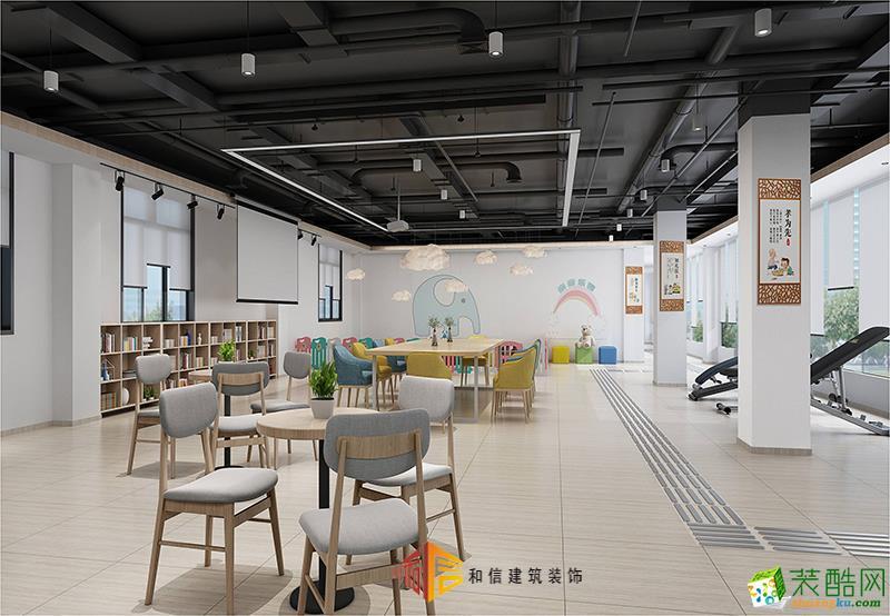 成都办公室装修设计公司-岩河坝社区办公室