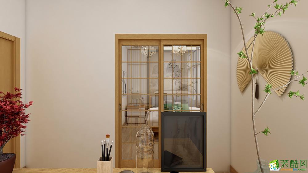 长沙94平米1室1厅1卫1厨混搭风格效果图