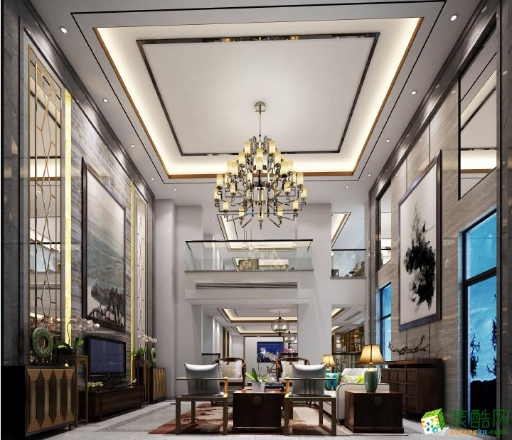 218平米别墅现代简约风格装修效果图