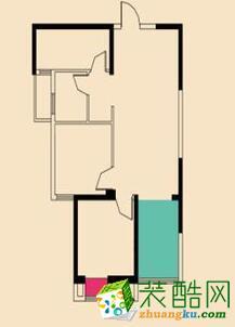 【海润华威装饰】盛世江城83平-北欧风格设计案例