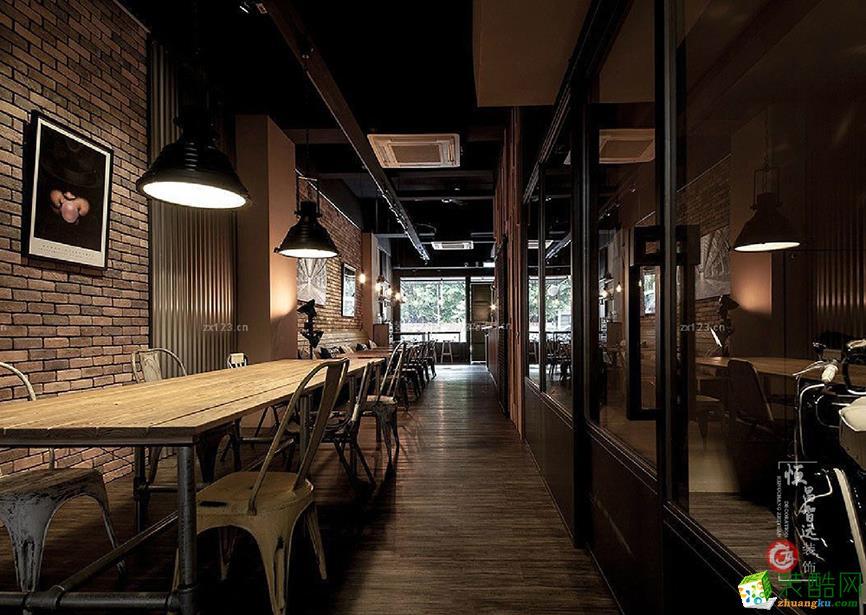 太原90平米咖啡店装修效果图片