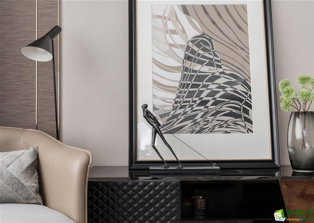 沈阳碧桂园名门-178平米法式三室两厅两卫装修效果图片