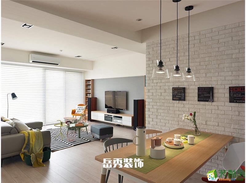 郑州和谐家园90�O现代简约风格装修案例