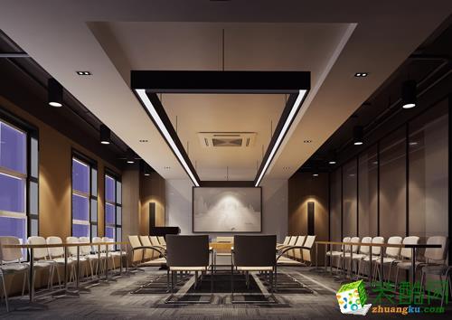 青岛1500平米大型办公室装修效果图
