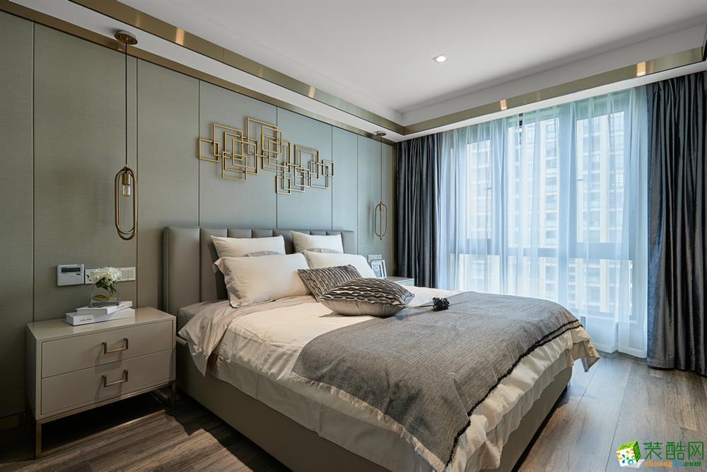 沈阳保利茉莉公馆-140平米中式风格三室两厅两卫装修效果图片