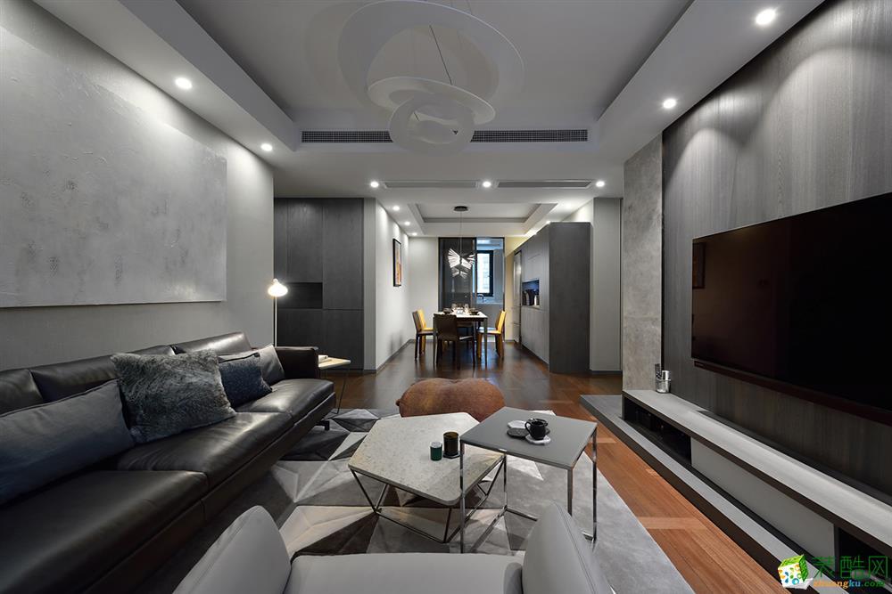 沈阳美的城-100平米三室两厅一卫装修效果图片