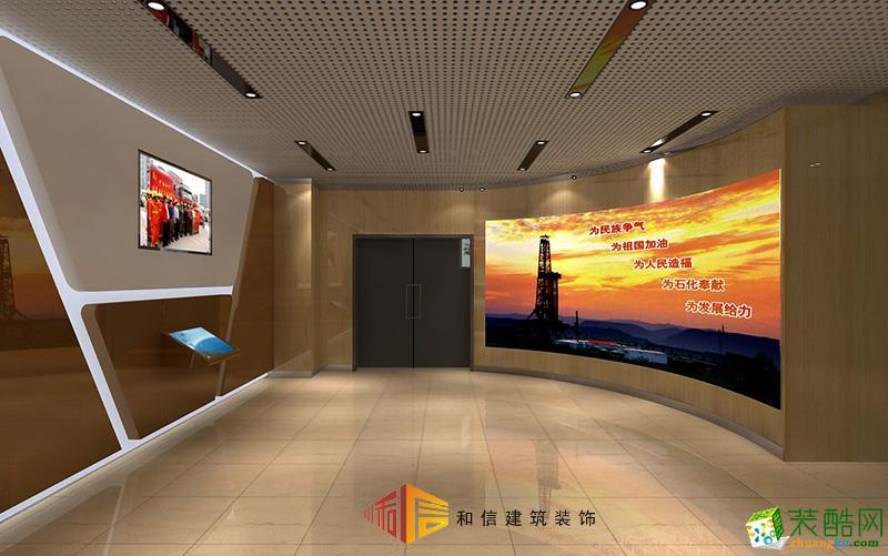 成都展厅装修设计公司-中国石油四川油气田展厅