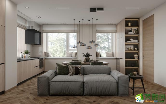 万州103�O三室现代风格装修效果图-古唐装饰