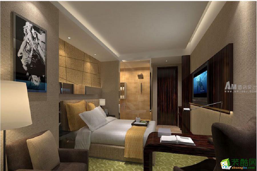 750平米時代風尚酒店裝修案例