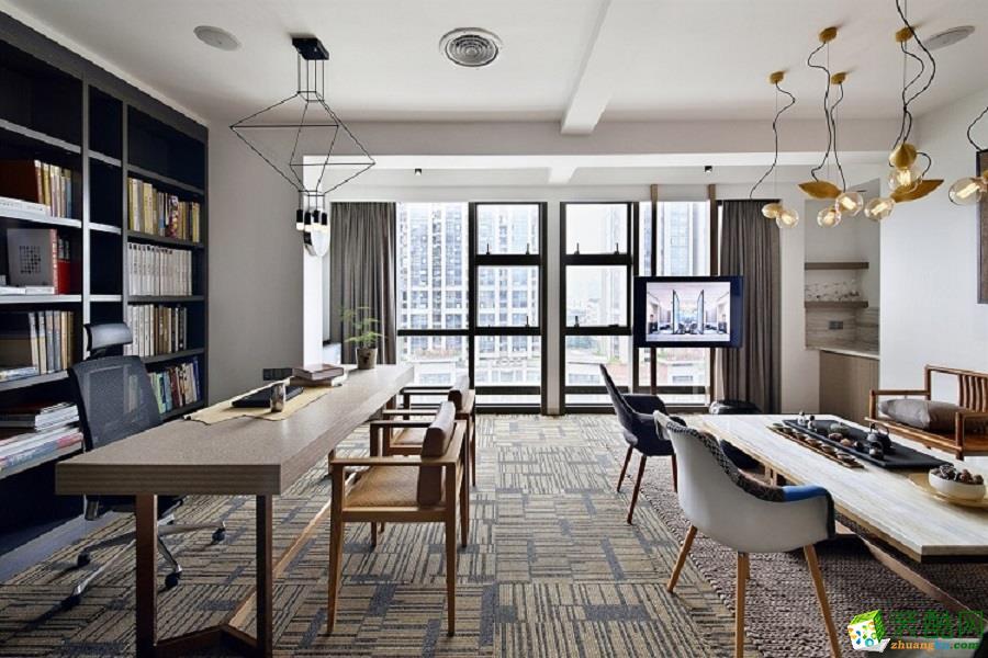 240平米混搭办公室装修案例