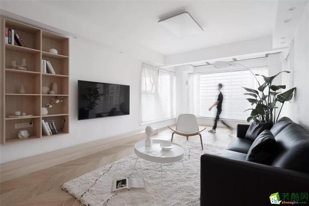西安万象春天-140平米日式风格四室两厅两卫装修效果图片