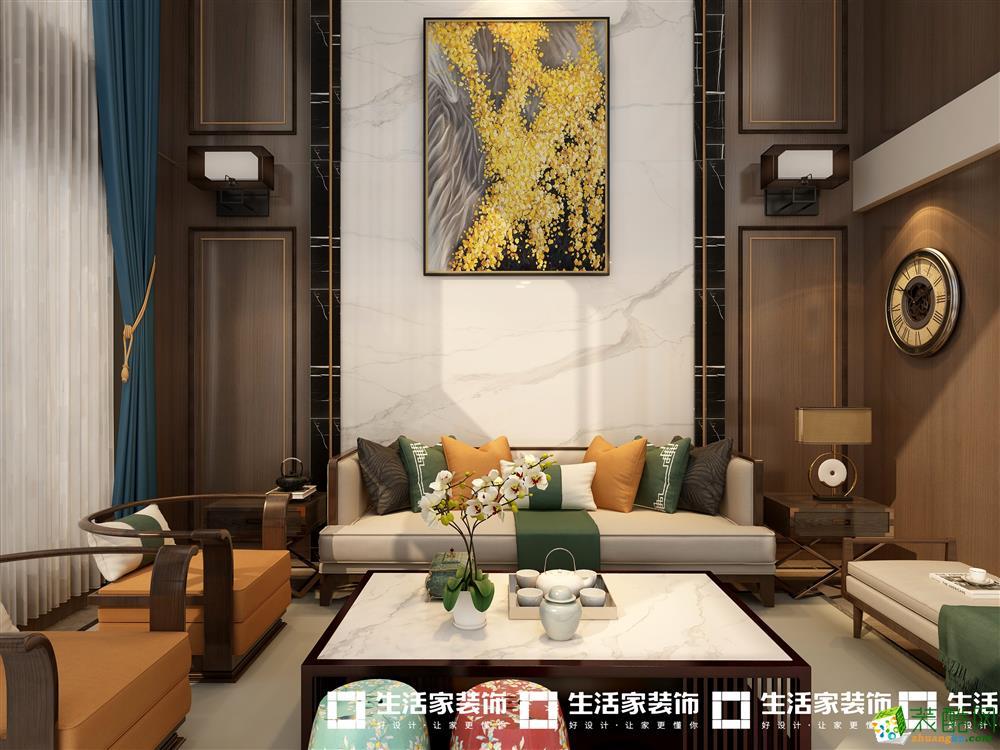 上林西江240�O中式风格装修效果图