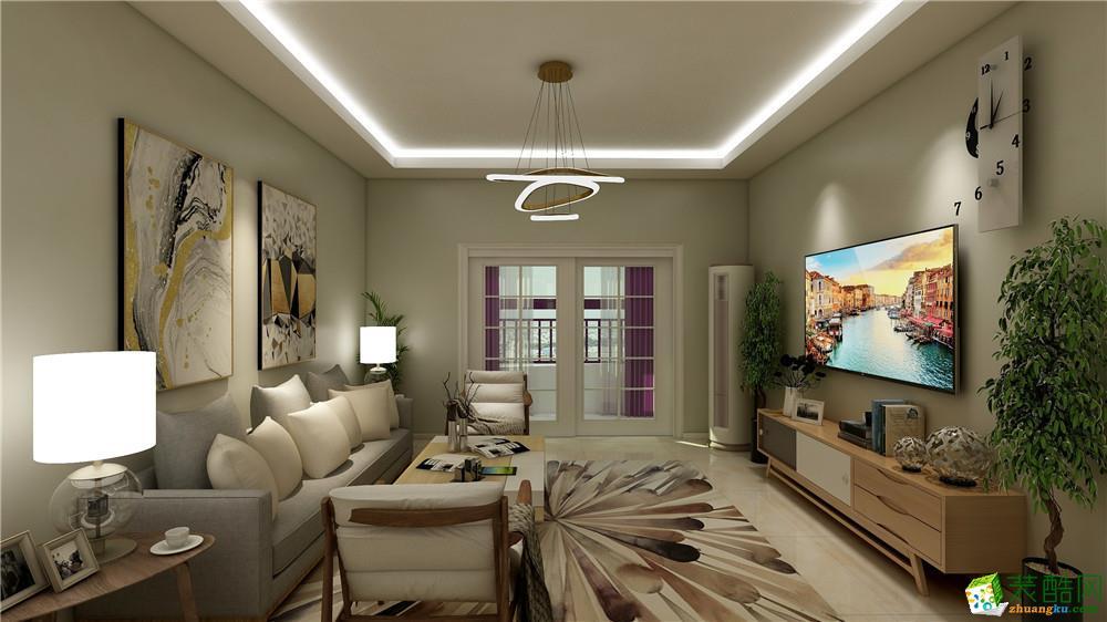 乌鲁木齐118平米现代风格三室两厅装修效果图