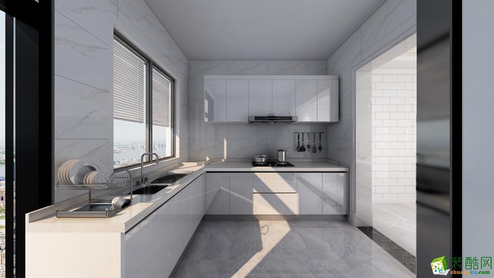 长沙111平米3室1厅2卫1厨北欧风格效果图