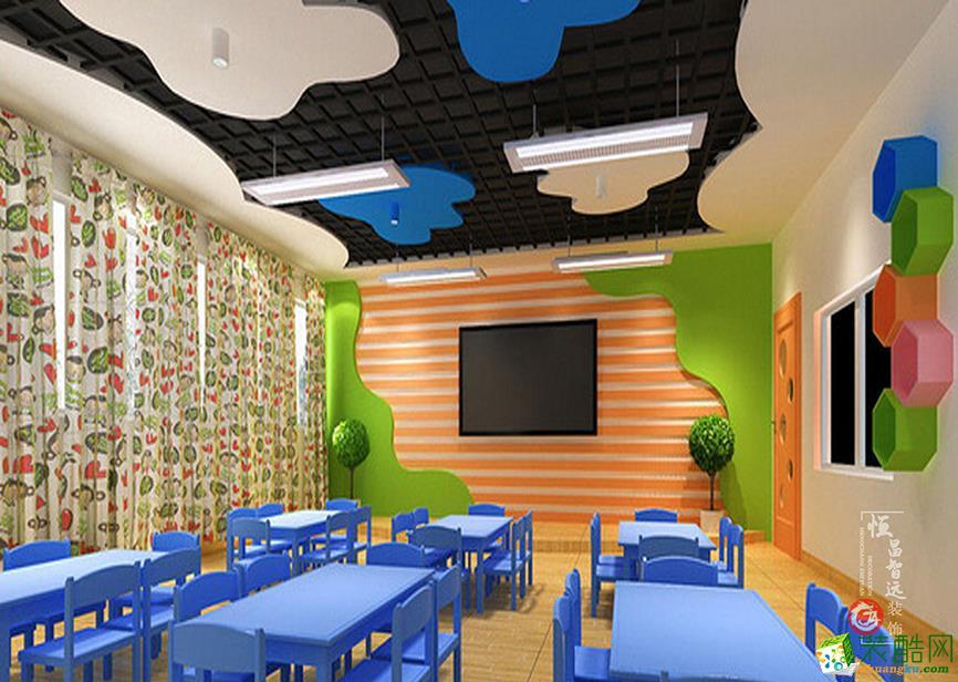 太原幼儿园600平现代风格装修效果图