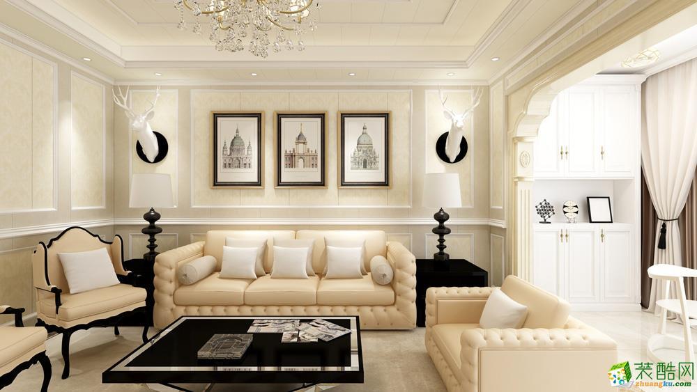 长沙137平米4室1厅2卫1厨欧式风格效果图