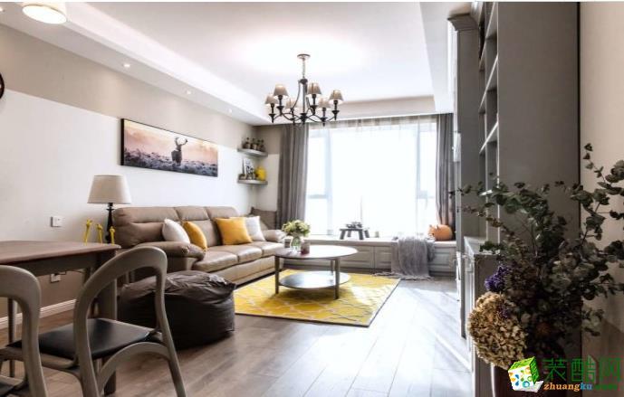 万州85平两室现代简约风格装修效果图-生活家装饰