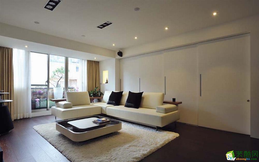 重慶40平米現代風格一居室裝修效果圖