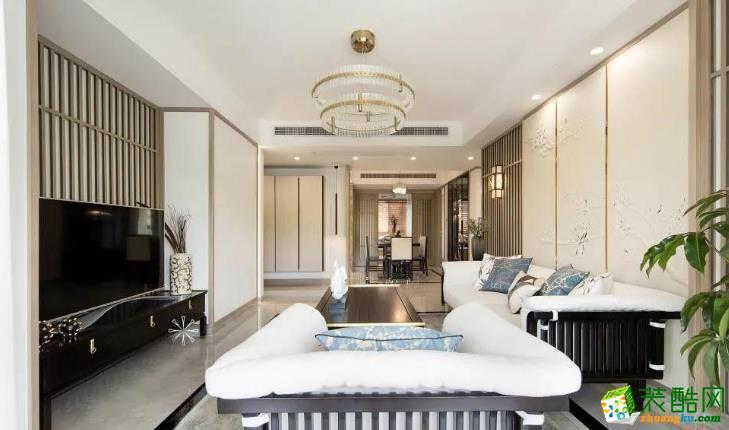 宜春创艺装饰-140平新中式装修案例效果图_中式风格-四室两厅两卫