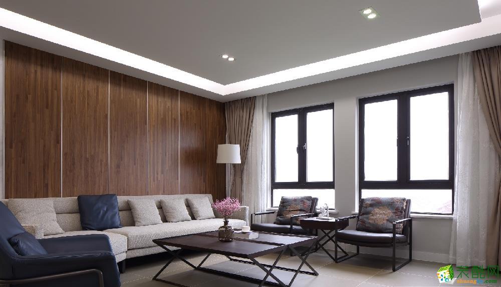烏魯木齊130平米簡約風格三室兩廳裝修效果圖