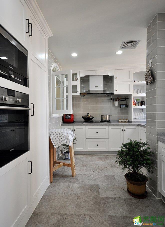 道里區100㎡美式風格兩室兩廳裝修設計效果圖