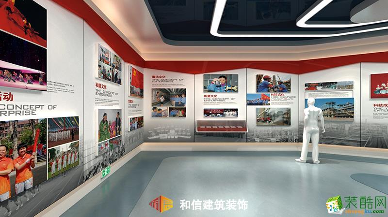 成都展厅装修设计公司-茂名石化展厅