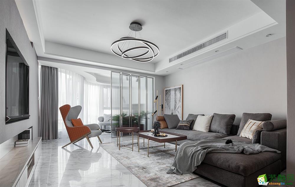 成都138平米现代风格四室两厅装修效果图_现代风格-四室两厅两卫