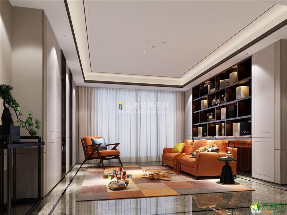 深圳大沖城市花園-160平米現代中式-四居室