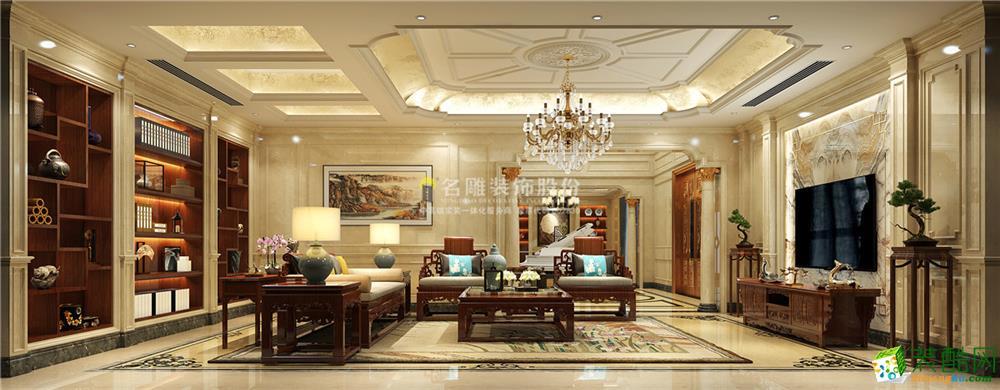 深圳观澜碧桂园-800平米欧式风格装修效果图