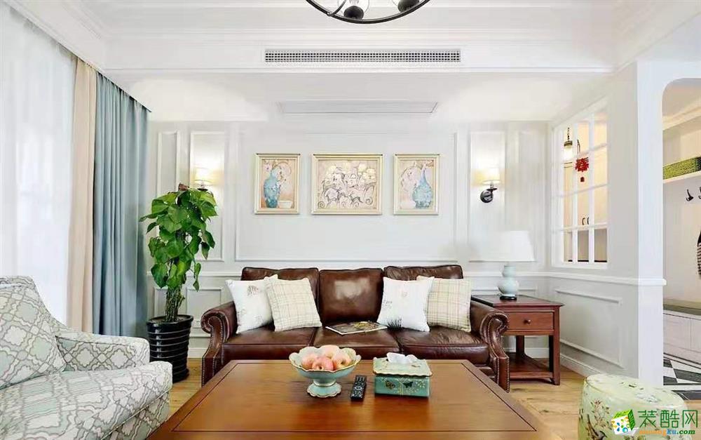 美式120平米四居室装修效果图