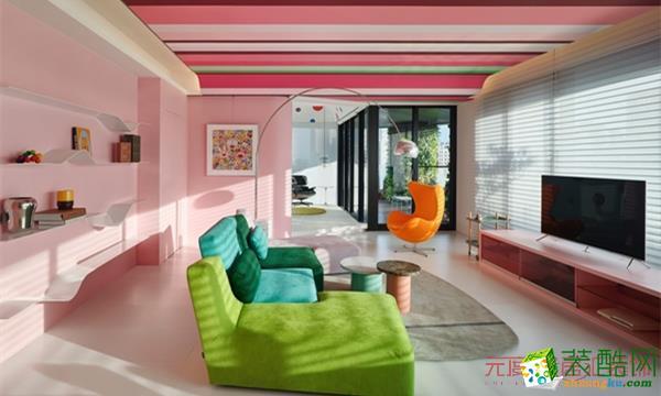 阿瑪尼藝術公寓 普通住宅 | 77㎡ |現代簡約