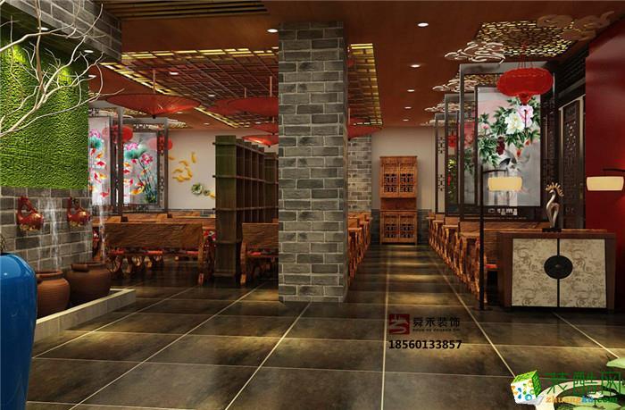 淄博韩式烤肉火锅店海鲜自助餐厅设计与装修公司