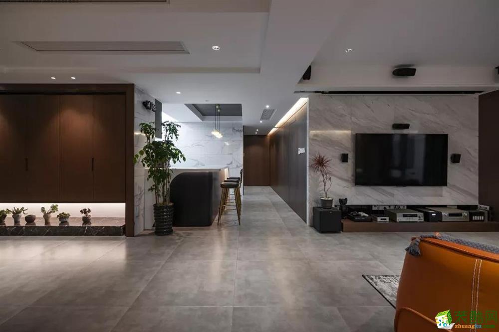 重庆150平米混搭四居室装修案例图